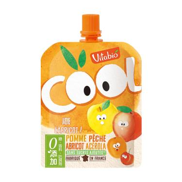 Vitabio 生機優鮮果-蘋果 蜜桃 杏桃(90g/包)