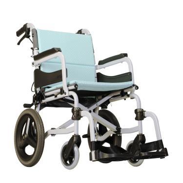康揚karma 小輪折背移位型輪椅 飛揚215 輪椅B款補助 (廠送)