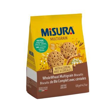 Misura 六種穀物餅乾120g