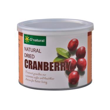 歐納丘 純天然整顆蔓越莓乾210g