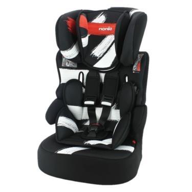 法國Nania 納尼亞 成長型安全汽座/汽車安全座椅 筆刷紅 (廠)