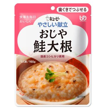 KEWPIE 介護食品 野菜鮭魚粥160g