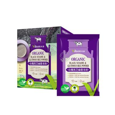 Vilson 米森 有糖黑芝麻紫米奶(280g/盒)
