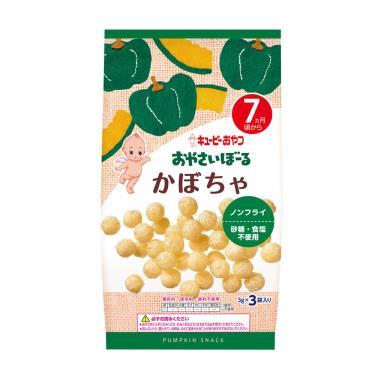KEWPIE 寶寶菓子球-南瓜(7M+)9g