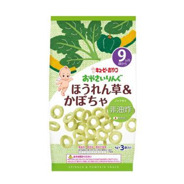 KEWPIE 寶寶菓子圈圈-野菜南瓜(9M+)12g