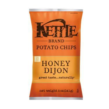 Kettle-K董 薄切洋芋片-蜂蜜芥末口味141g