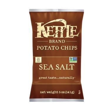 Kettle-K董 薄切洋芋片-海鹽口味141g