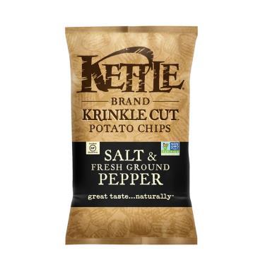 Kettle-K董 波浪洋芋片-胡椒鹽味口味141g