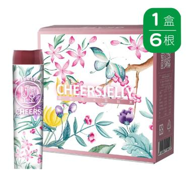 Cheersjelly舉杯低卡-葡萄蒟蒻凍(6根/盒)