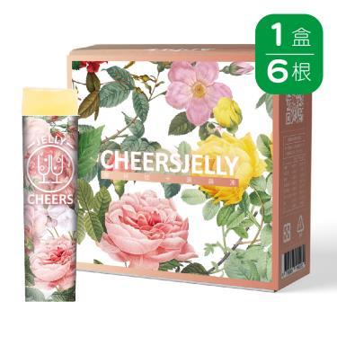 Cheersjelly舉杯低卡-蘋果蒟蒻凍(6根/盒)