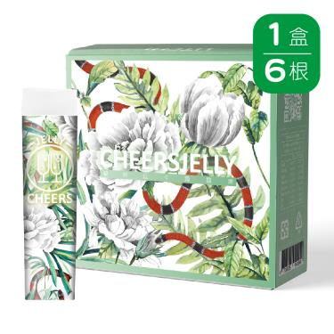 Cheersjelly舉杯低卡-荔枝蒟蒻凍(6根/盒)