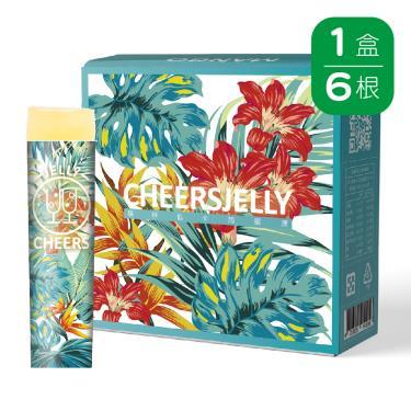 Cheersjelly舉杯低卡-芒果蒟蒻凍(6根/盒)