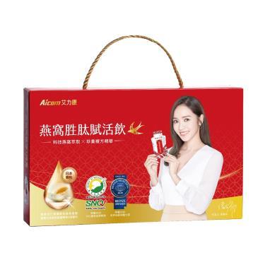 Aicom 燕窩胜肽賦活飲禮盒-30ml*15包/盒