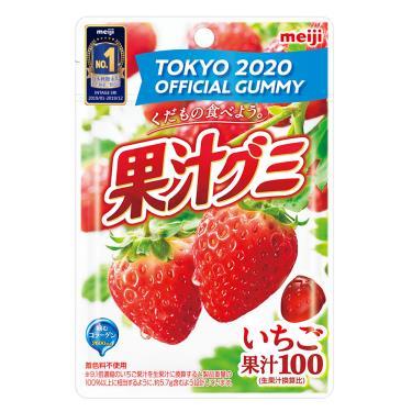 明治 果汁QQ糖-草莓51g