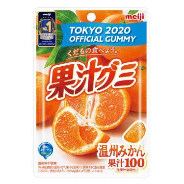 明治 果汁QQ糖-溫州蜜柑51g