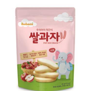 ibobomi 嬰兒米餅 蘋果味(30g/包)