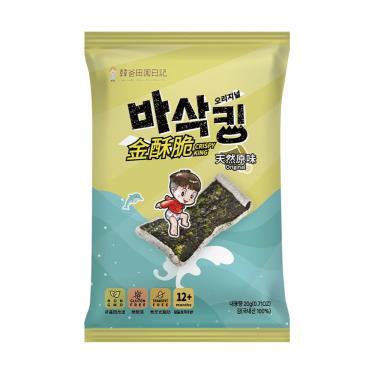 韓爸田園日記 金酥脆海苔片-天然原味20g