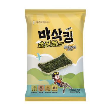 韓爸田園日記 金酥脆海苔片-經典起司20g
