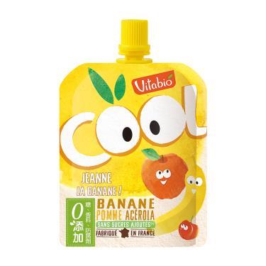 Vitabio 生機優鮮果-蘋果 香蕉(90g/包)