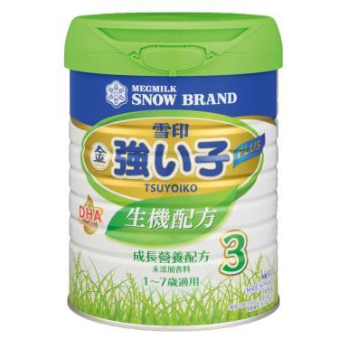 雪印-強小子3PLUS生機-幼兒成長奶粉 800g/罐