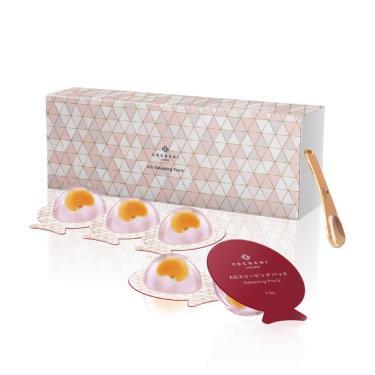 AG抗糖小肌蛋晚安面膜5顆/盒(附面膜挖棒)