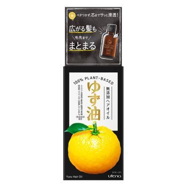 日本UTENA佑天蘭 柚子天然頭髮護理油60ml