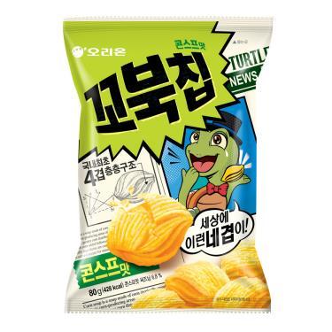 好麗友 烏龜玉米脆片(玉米濃湯)80g