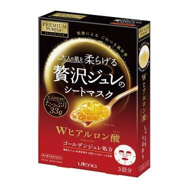 日本UTENA佑天蘭 黃金果凍面膜(玻尿酸)33g X 3片/盒