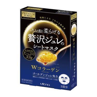 日本UTENA佑天蘭 黃金果凍面膜(膠原蛋白)33g X 3片/盒