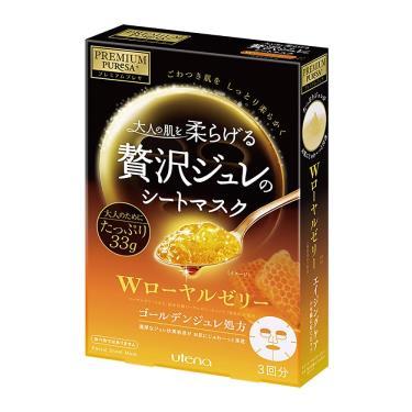 日本UTENA佑天蘭 黃金果凍面膜(蜂王漿)33g X 3片/盒