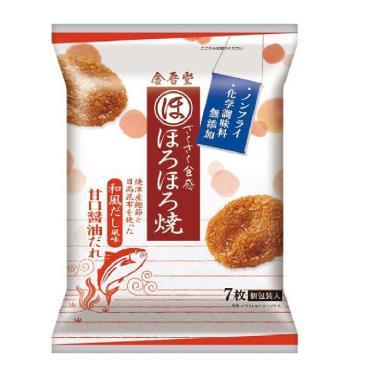 金吾堂 甘口醬油米果(7枚)