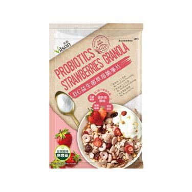 Vilson 米森 BC益生菌草莓脆麥片 40g 隨手包