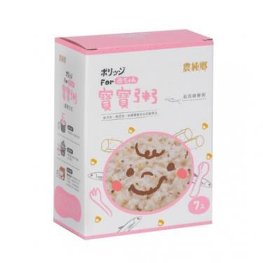 農純鄉 虱目樂樂粥(150g x7包/盒)