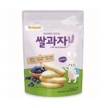 ibobomi嬰兒米餅(藍莓味)30g