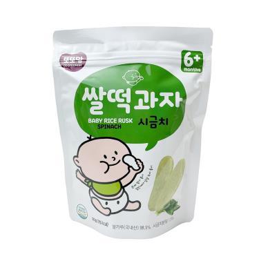 韓爸田園日記 米片-菠菜口味(20g/包)