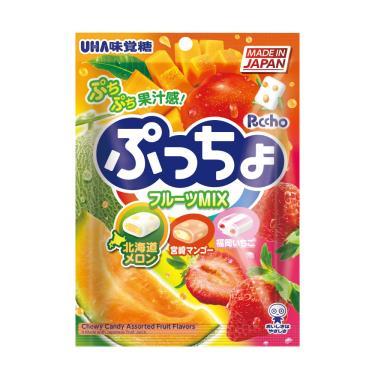 UHA 3味水果軟糖 90g
