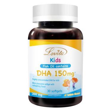 愛維他 兒童魚油(含DHA150mg)軟膠囊(30粒/瓶)