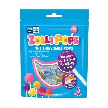 Zollipops木糖醇無糖棒棒糖 - 綜合水果口味(10支) 58g