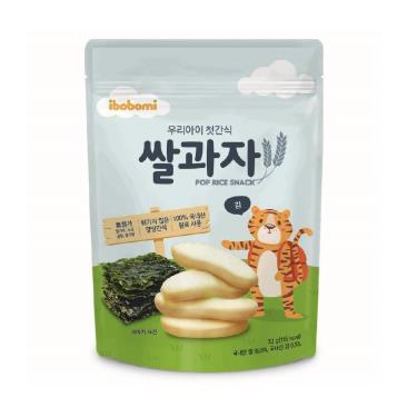 ibobomi嬰兒米餅 海苔味 30g