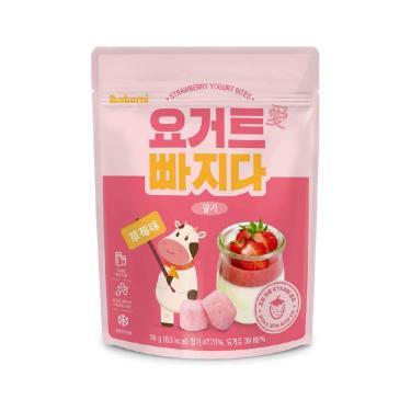 ibobomi 乳酸菌優格點心(草莓味) 16g