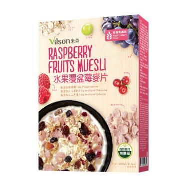 Vilson 米森 水果覆盆莓麥片 400g