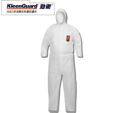 KleenGuard 勁衛 A40 化學防護 連身隔離衣 M號