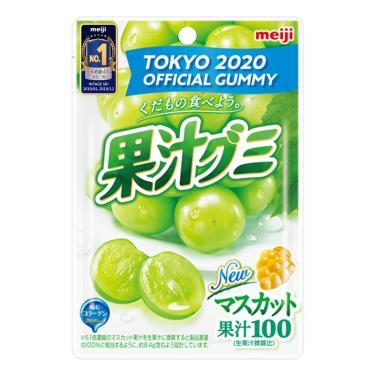 明治 果汁QQ糖-白葡萄口味51g
