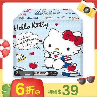 〔Hello Kitty]涼感透氣護墊15.5cm(20片)