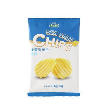 統一生機 海鹽洋芋片-原味50g