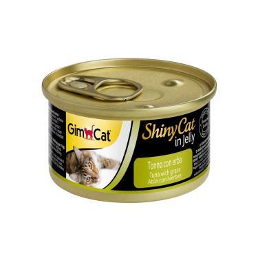 竣寶化毛貓罐-鮪魚+貓草