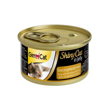 竣寶化毛貓罐-鮪魚+鮮蝦+麥芽