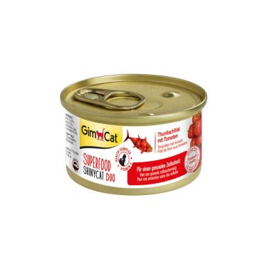 竣寶超級貓罐-鮪魚+番茄70g