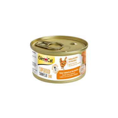 竣寶超級貓罐-雞肉+胡蘿蔔70g