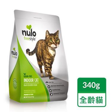 NULO紐樂芙  無榖室內貓-鴨肉+蔓越莓340g
